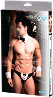Костюм эротический Candy Girl Boy Keyden OS / 801011 (черный/белый) -