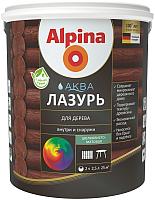 Лазурь для древесины Alpina Аква (2.5л) -
