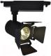 Трековый светильник Arte Lamp Track Lights A6709PL-1BK -
