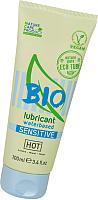 Лубрикант-гель HOT Bio Sensitive на водной основе для чувствительной кожи / 44161 (100мл) -