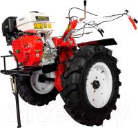 Мотокультиватор Shtenli 1900 PL с плугом и окучником (14л.с., колеса 7x12) -