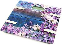 Напольные весы электронные Marta MT-1682 (весенние цветы) -
