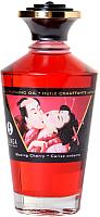 Эротическое массажное масло Shunga Blazing Cherry разогревающее / 2200 (100мл) -