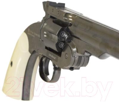 Револьвер пневматический ASG Schofiled 6 / 18912 (серебристый)