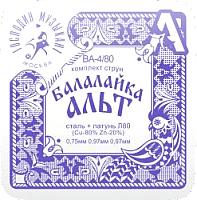 Струны для балалайки Господин Музыкант BA-4/80 -