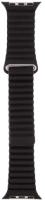 Ремешок для умных часов Evolution Leather Loop AW40-LL01 для Watch 38/40mm (Dark Black) -