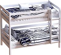Двухъярусная кровать Мебельград Авалон (восковая эмаль) -