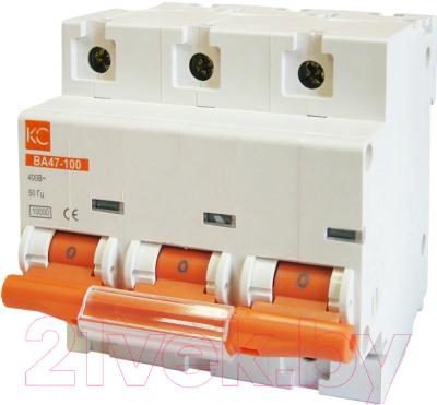 Выключатель автоматический КС ВА 47-100 3Р 40А C
