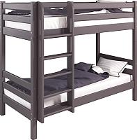 Двухъярусная кровать Мебельград Соня вариант 9 (массив сосны лаванда) -