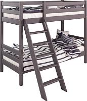 Двухъярусная кровать Мебельград Соня вариант 10 (массив сосны лаванда) -