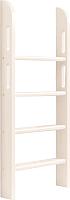 Лестница для кровати Мебельград Соня пакет №7 прямая (массив сосны белый) -