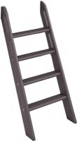 Лестница для кровати Мебельград Соня пакет №8 наклонная (массив сосны лаванда) -