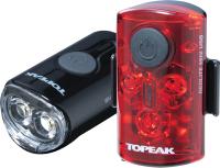 Набор фонарей для велосипеда Topeak Mini Combo USB / TMS080 -