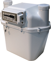 Счетчик газа бытовой БелОМО СГД ЗТ G6 с термокомпенсатором (левый) -
