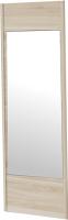 Дверца Мебельград Леон 590 с зеркалом (дуб сонома) -