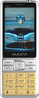 Мобильный телефон Maxvi X900 (золото) -