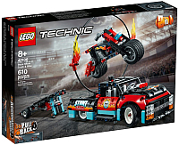 Конструктор Lego Technic Шоу трюков на грузовиках и мотоциклах 42106 -