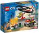 Конструктор Lego City Police Пожарный спасательный вертолёт 60248 -