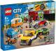 Конструктор Lego City Nitro Wheels Тюнинг-мастерская 60258 -