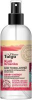 Тоник для волос Natura Siberica Doctor Taiga био тоник для ослабленных и поврежденных волос (170мл) -