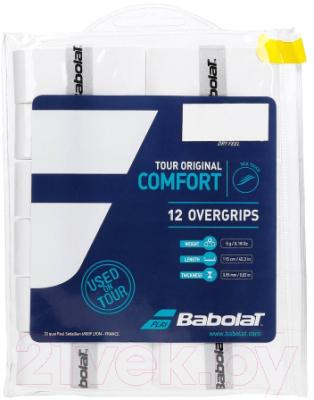 Овергрип Babolat Tour Original X 12 / 654012-101 (12шт, белый)