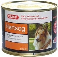 Корм для собак ОМКК Hertsog (525г) -