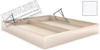 Ящик бельевой для кровати Мебельград Под подъемный механизм 140х200 (бодега белая) -