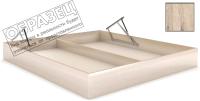 Ящик бельевой для кровати Мебельград Под подъемный механизм 140х200 (дуб бонифаций) -