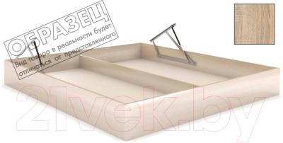 Ящик бельевой для кровати Мебельград Под подъемный механизм 160x200