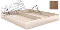 Ящик бельевой для кровати Мебельград Под подъемный механизм 160x200 (дуб стирлинг) -