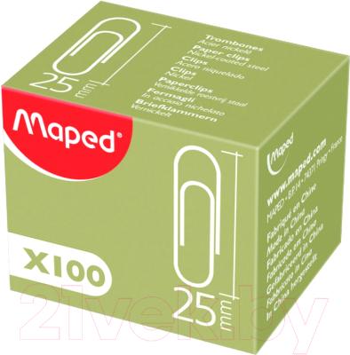 Скрепки Maped 039610 (25мм, 100шт)