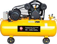 Воздушный компрессор Калибр КМ-4200/100РМ (50301) -