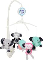 Мобиль на кроватку Baby Mix TK/494М (слоны и обезьянки) -