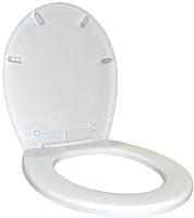 Сиденье для унитаза Plastic Republic BQ2600БЛ (белый) -