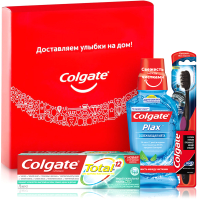 Набор для ухода за полостью рта Colgate Total для комплексного ухода -