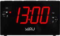 Радиочасы Miru CR-1030 (черный) -