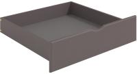 Ящик под кровать Мебельград Соня (массив сосны лаванда/лиственница сибирская) -