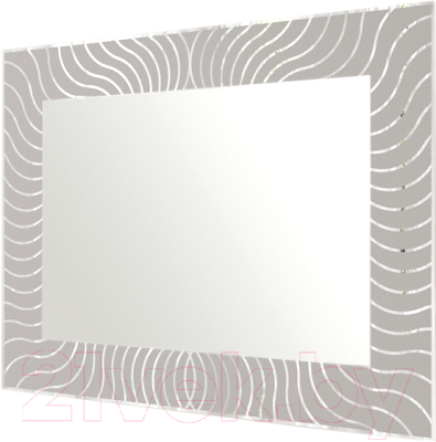 Зеркало Мебельград Медуза Z-01 прямоугольник 80x58.5