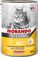 Корм для кошек Morando Professional С курицей и индейкой / 09957 (405г) -