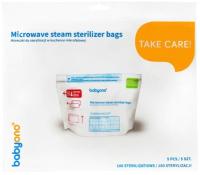 Пакет для стерилизации в СВЧ-печи BabyOno 1038 (5шт) -