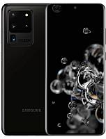 Смартфон Samsung Galaxy S20 Ultra (2020) / SM-G988BZKDSER (черный) -