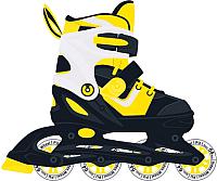 Роликовые коньки Ridex Joker (р-р 35-38, желтый) -