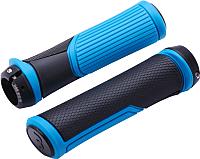 Грипсы для велосипеда BBB Cobra / BHG-96 (черный/синий) -