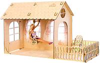 Кукольный домик Теремок Малый дом. Барби / КД-3 -