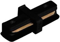 Коннектор для шинопровода Alfaled BL I прямой (черный) -