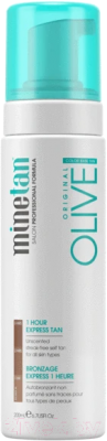 Мусс-автозагар MineTan Olive