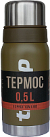 Термос для напитков Tramp Expedition Line / TRC-030о (0.5л, оливковый) -