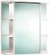 Шкаф с зеркалом для ванной Акваль Милана 75 / АМ.04.75.00.R -