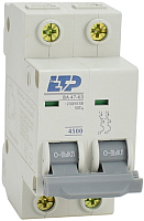 Выключатель автоматический ETP ВА 47-63 2P 16А (С) -