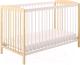 Детская кроватка Polini Kids Simple 101 (натуральный/белый) -